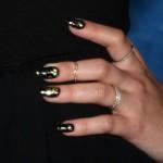 demi-lovato-black-gold-nails