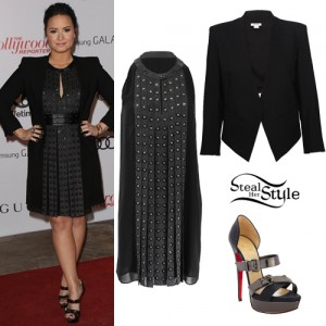Demi Lovato attending the Hollywood Reporter Women in Entertainment Breakfast - photo: prphotos