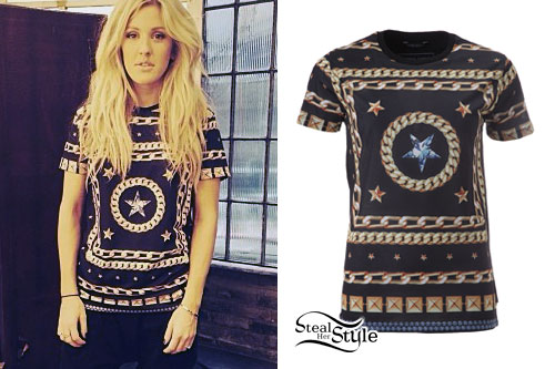 Ellie Goulding: Chains & Stars T-Shirt