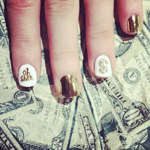 Foxes nail polish nail art steal her style instagram iamfoxes prinsesfo Images