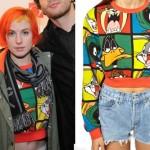 Hayley Williams: Looney Tunes Sweater