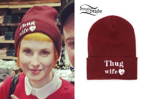 Hayley Williams: Thug Wife Beanie