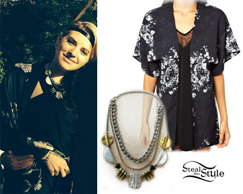 Juliet Simms: Crystal Beaded Necklace
