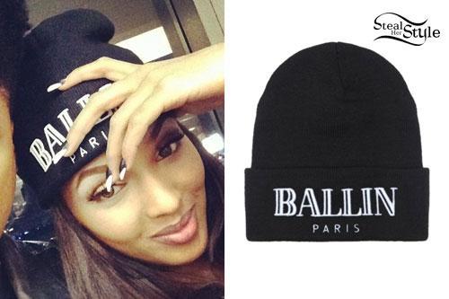 Lola Monroe: Ballin Paris Beanie
