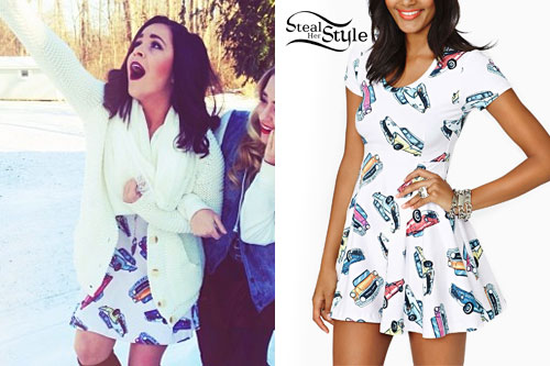 Megan Mace: Car Print Dress