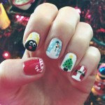 mindy-white-christmas-nails