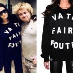 Porcelain Black: Va Te Faire Foutre Sweater
