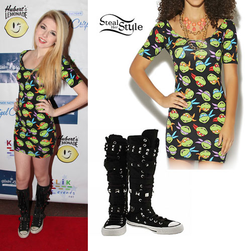 Saige Ryan Campbell: Ninja Turtles Dress