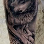 skylar-grey-wolf-tattoo