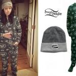 Tay Jardine: Jets Onesie Pajamas