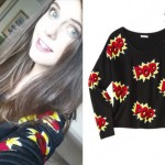 Tiffany Alvord: Comic Book 'Pop' Sweater
