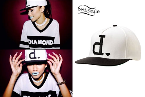 Zendaya: Diamond Supply Co Hat