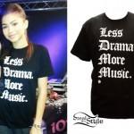 Zendaya: Less Drama More Music Tee