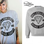 Allison Green: Diamond Sweatshirt