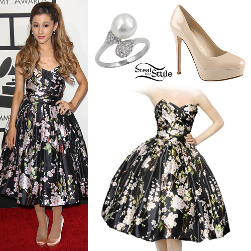 Ariana Grande: 2014 GRAMMYs Outfit