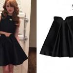 Bella Thorne: Petal Waist Skirt