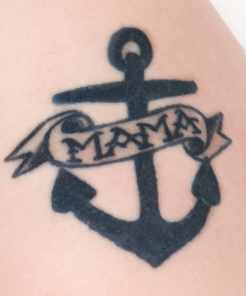 Beth Dittos Mama Anchor Tattoo Steal Her Style