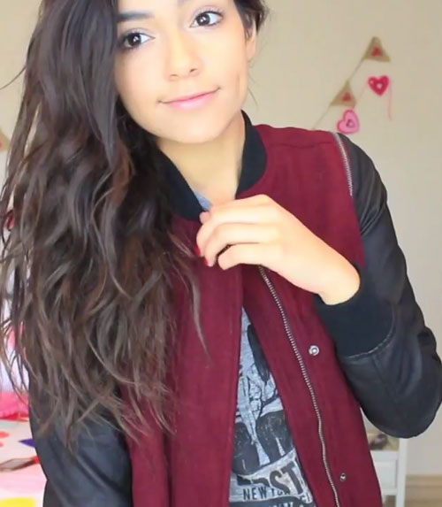 Easy Hairstyles Bethany Mota Instagram