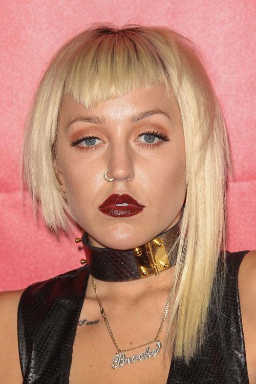 Celebrity Widow S Peak Bangs Hairstyles Steal Her Style