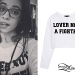 Camila Cabello: Lover Not A Fighter Sweater