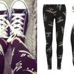 Cher Lloyd: Boy London Leggings