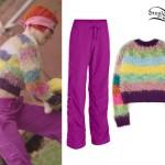 Hayley Williams: 'Ain't It Fun' Purple Pants