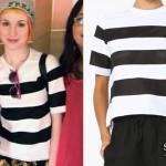 Hayley Williams: Mesh Striped T-Shirt