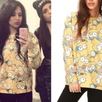Jasmine Villegas: Simpsons Print Sweater
