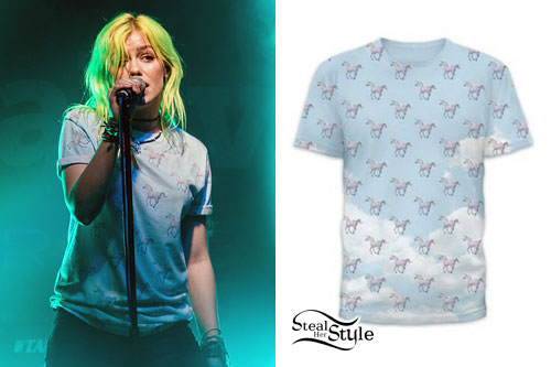 Jenna McDougall: Horse Print T-Shirt