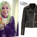 Jenna McDougall: Quilted Leather Jacket