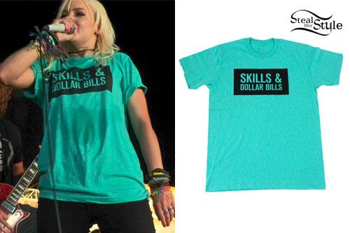 Jenna McDougall: Skills & Dollar Bills Tee