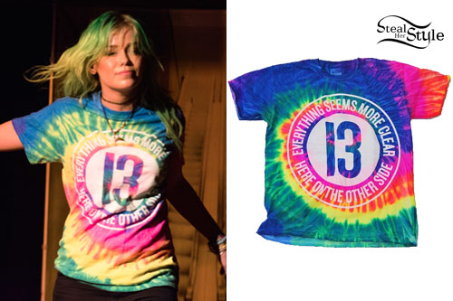 Jenna McDougall: Rainbow Tie Dye T-Shirt