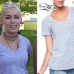 Jenna McDougall: Young & Reckless V-Neck Tee