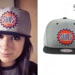 Jess Bowen: Suns Gray Snapback Hat
