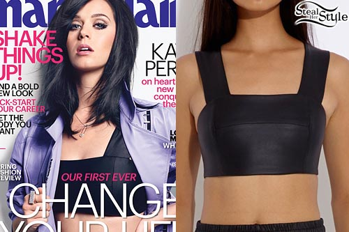 Katy Perry covering Marie Claire's January 2014 Issue - photo: eonline.com