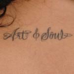Lauren London Tattoos