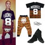 Lil Debbie: Tribal Print Tee & Pants