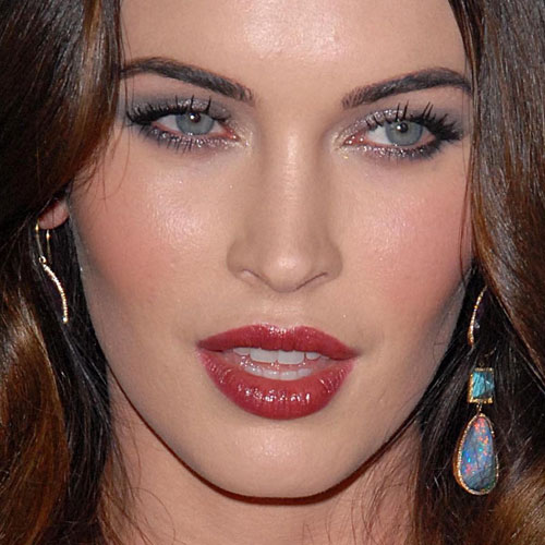 Megan Fox's Makeup Photos & Products