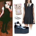 Melanie Martinez: Schoolgirl Dress, Platform Mary Janes