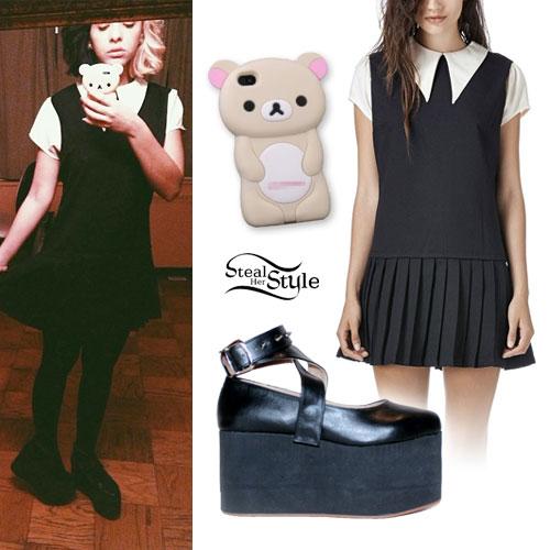 Melanie Martinez: Schoolgirl Dress, Platform Mary Janes