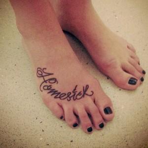 Cutiepiemarzia Foot Tattoo Celebrity Foot Tattoos...