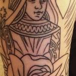 melissa-marie-green-queen-arm-tattoo