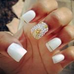 normani-kordei-white-jewel-nails