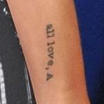 Olivia Wilde Tattoos