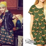 Sherri DuPree-Bemis: Fox Print Dress
