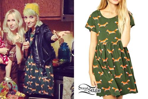 Sherri DuPree-Bemis: Fox Print Dress