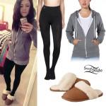 tay-jardine-gray-hoodie-sherpa-slippers