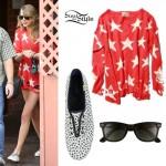 Taylor Swift: Star Print Sweater