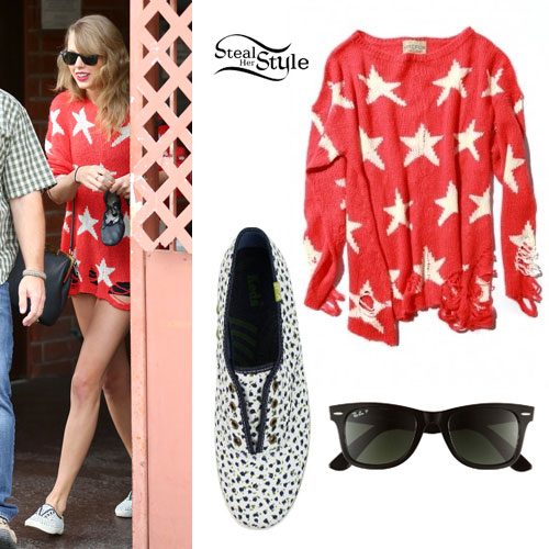 Taylor Swift: Star Print Sweater
