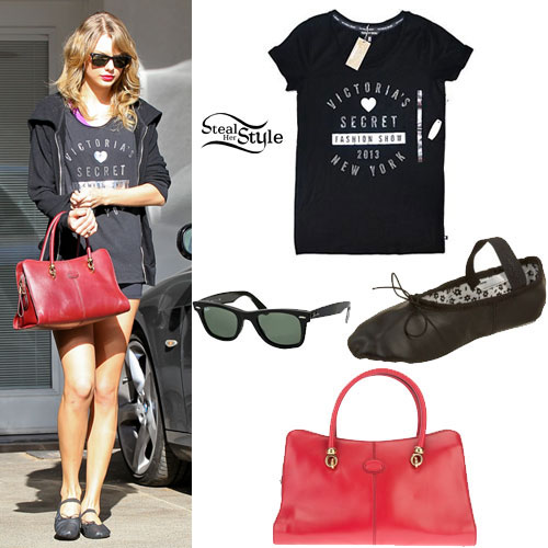 Taylor Swift: Victoria's Secret Tee, Ballet Shoes